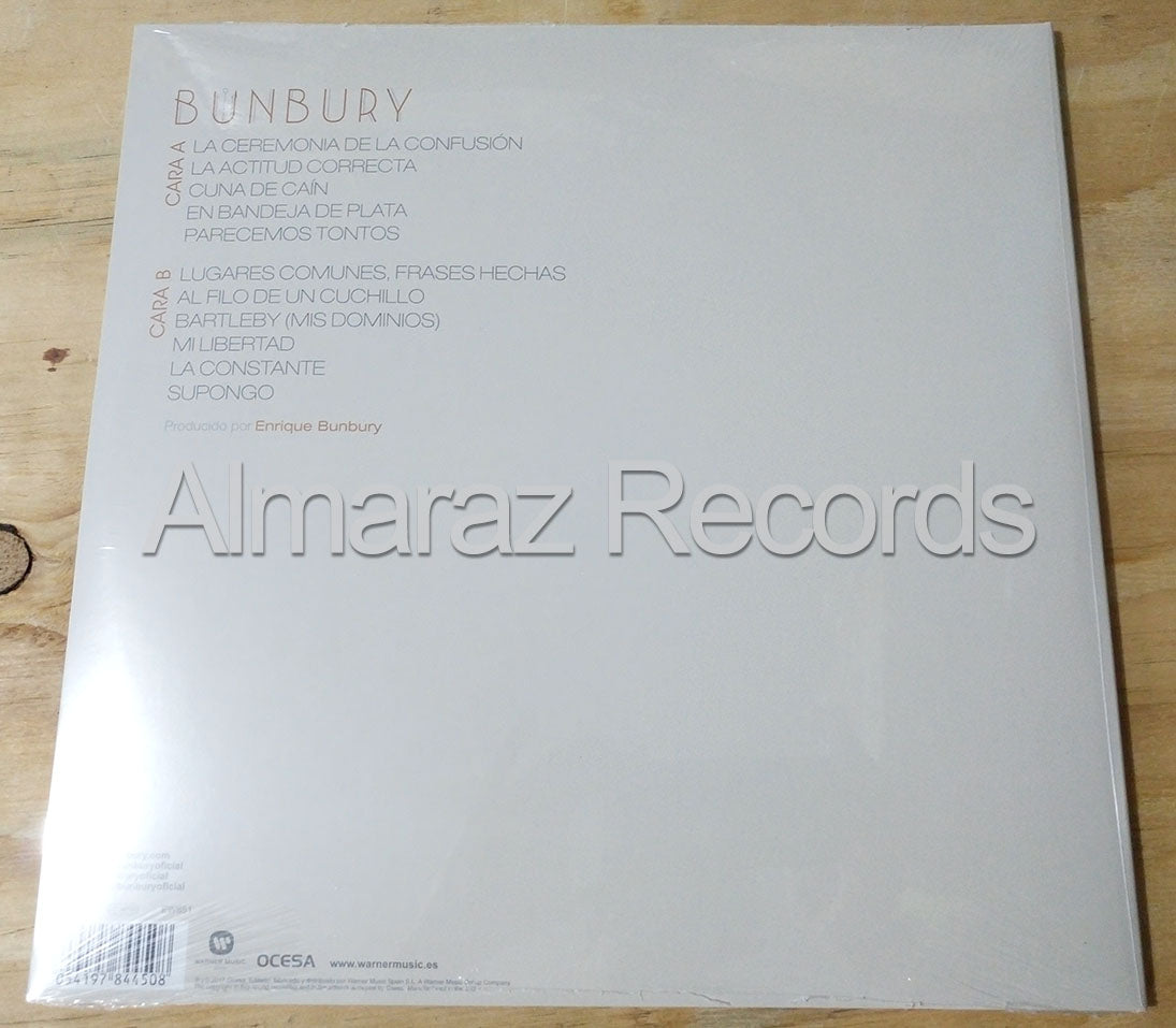 Enrique Bunbury Expectativas Vinyl LP