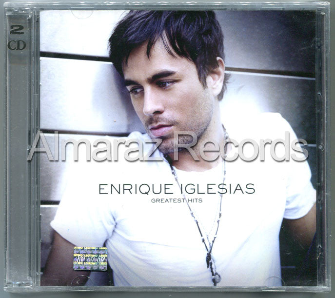 Enrique Iglesias Greatest Hits CD+DVD - Almaraz Records | Tienda de Discos y Películas  - 1