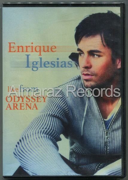 Enrique Iglesias Live From Odissey Arena DVD