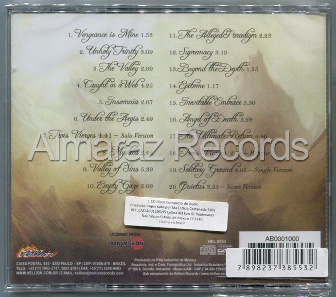 Epica The Score 2011 Brazil Edition CD [Import] - Almaraz Records | Tienda de Discos y Películas  - 2