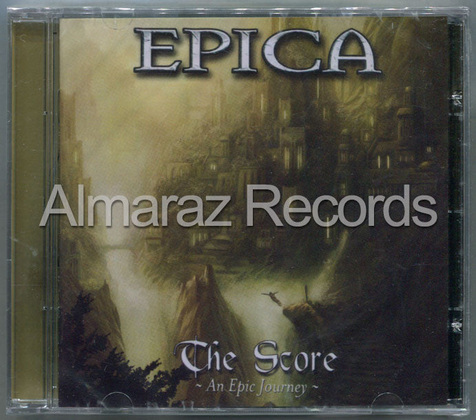 Epica The Score 2011 Brazil Edition CD [Import] - Almaraz Records | Tienda de Discos y Películas  - 1