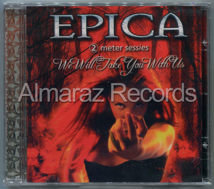 Epica We Will Take You With Us Live Brazil Edition CD [Import] - Almaraz Records | Tienda de Discos y Películas  - 1