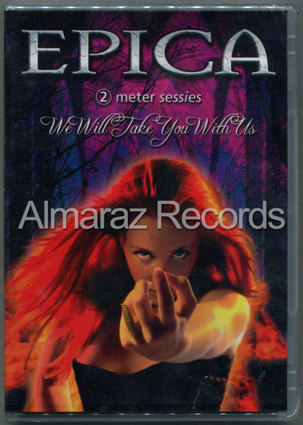 Epica We Will Take You With Us Brazil Edition DVD [Import] - Almaraz Records | Tienda de Discos y Películas  - 1