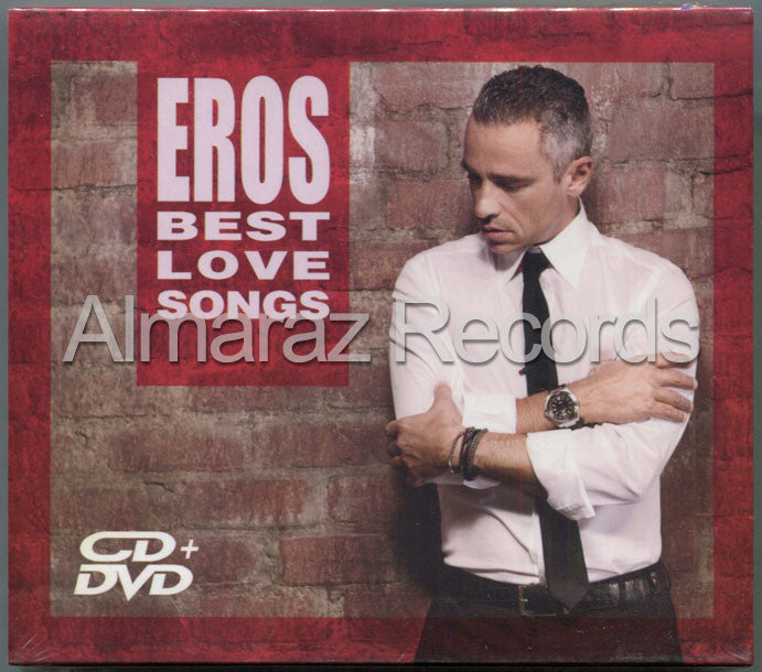 Eros Ramazzotti Best Love Songs CD+DVD - Almaraz Records | Tienda de Discos y Películas  - 1