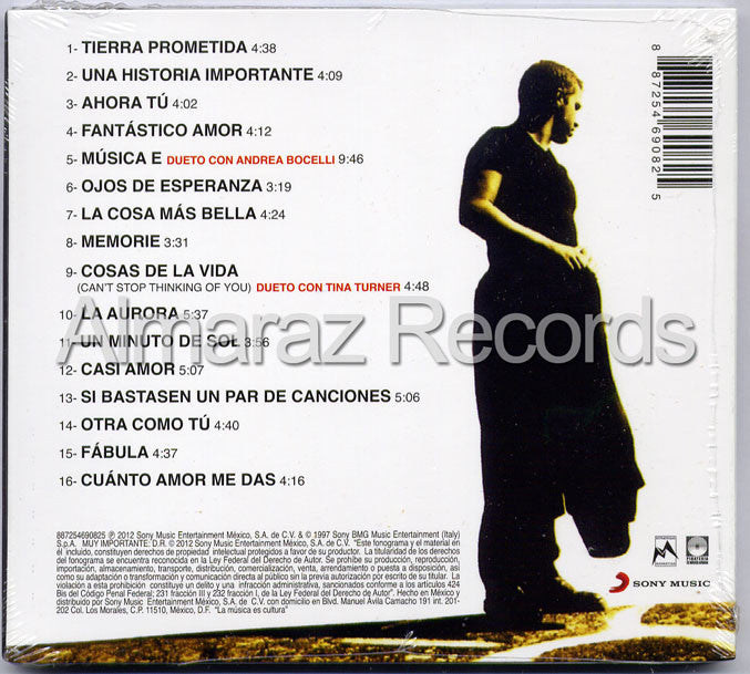 Eros Ramazzotti EROS Spanish Version CD (2012 Digipak) - Almaraz Records | Tienda de Discos y Películas  - 2