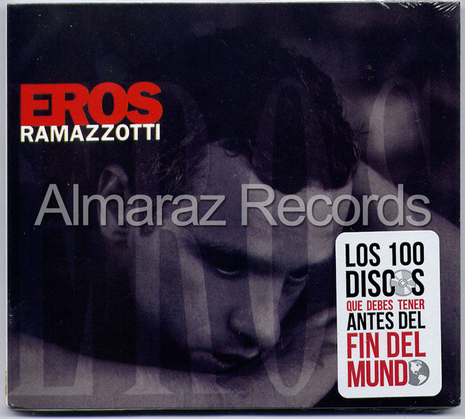 Eros Ramazzotti EROS Spanish Version CD (2012 Digipak) - Almaraz Records | Tienda de Discos y Películas  - 1
