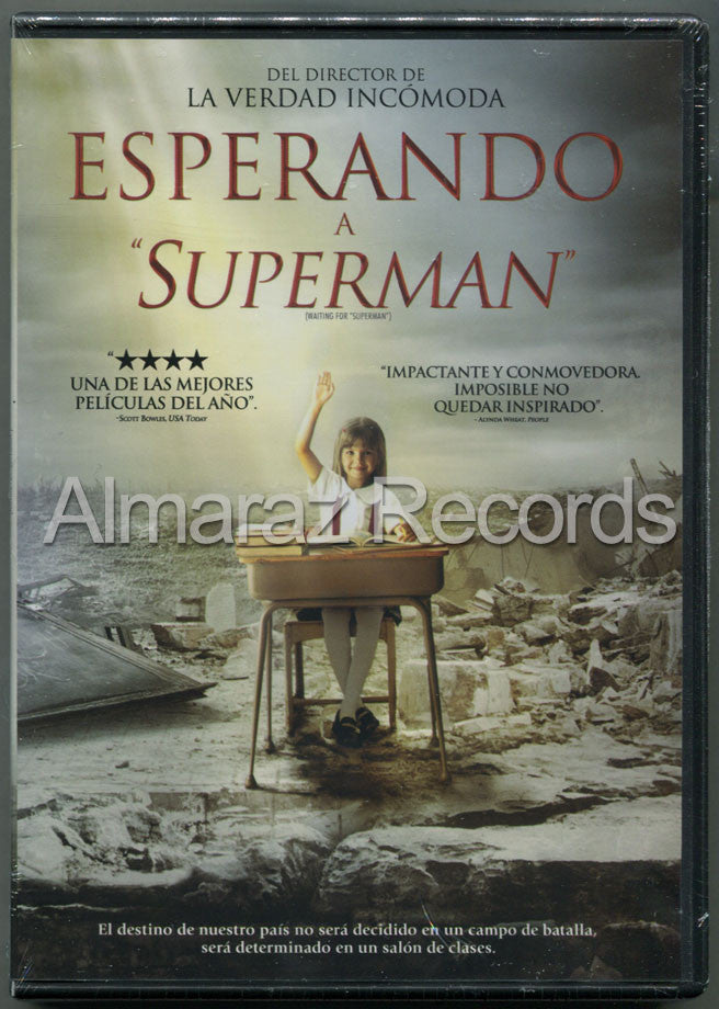 Esperando A Superman DVD - Waiting For Superman - Geoffrey Canada - Almaraz Records | Tienda de Discos y Películas  - 1