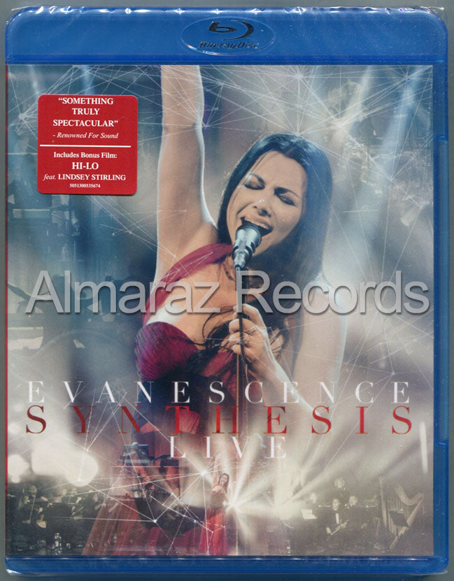 Evanescence Synthesis Live Blu-Ray