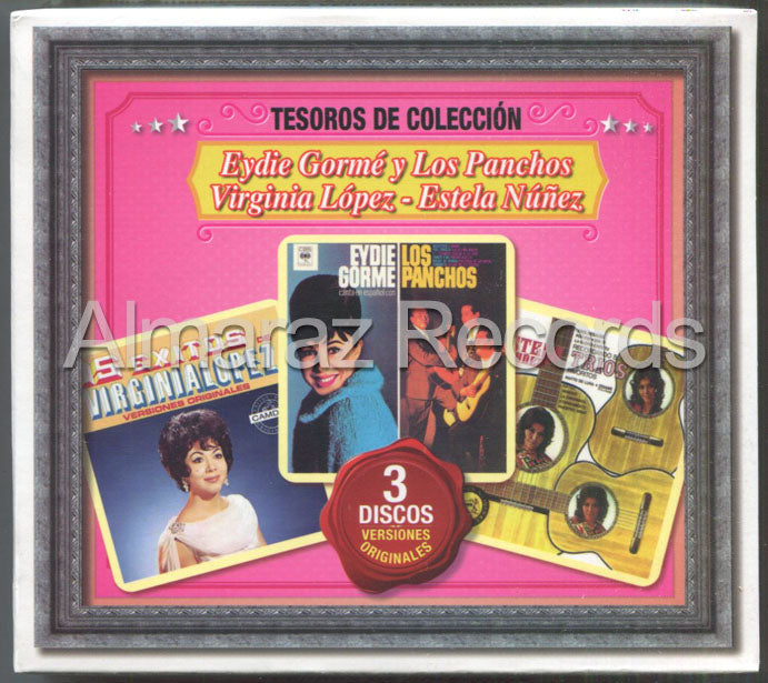 Eydie Gorme Virginia Lopez Tesoros De Coleccion 3CD