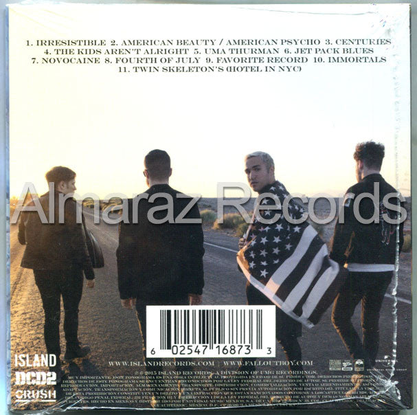 Fall Out Boy American Beauty American Psycho CD - Almaraz Records | Tienda de Discos y Películas  - 2
