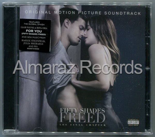 Fifty Shades Freed The Final Chapter CD