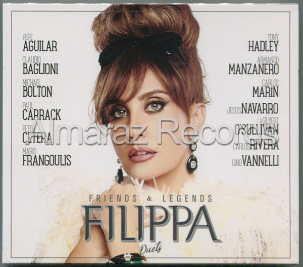 Filippa Giordano Friends & Legends Duets CD+DVD