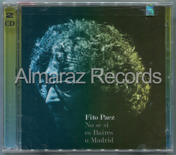 Fito Paez No Se Si Es Baires O Madrid CD+DVD