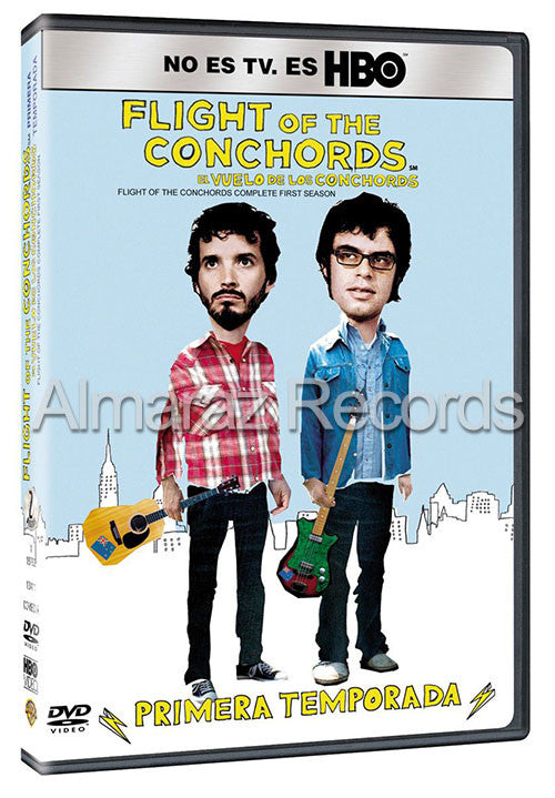 Flight Of The Conchords Temporada 1 2DVD - Almaraz Records | Tienda de Discos y Películas