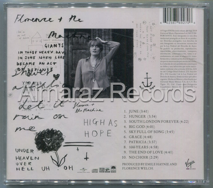Florence + The Machine High As Hope CD