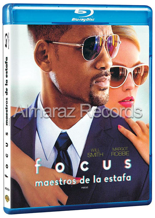 Focus Maestros De La Estafa Blu Ray Dvd