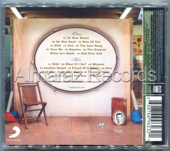 Foo Fighters In Your Honor 2CD - Almaraz Records | Tienda de Discos y Películas  - 2