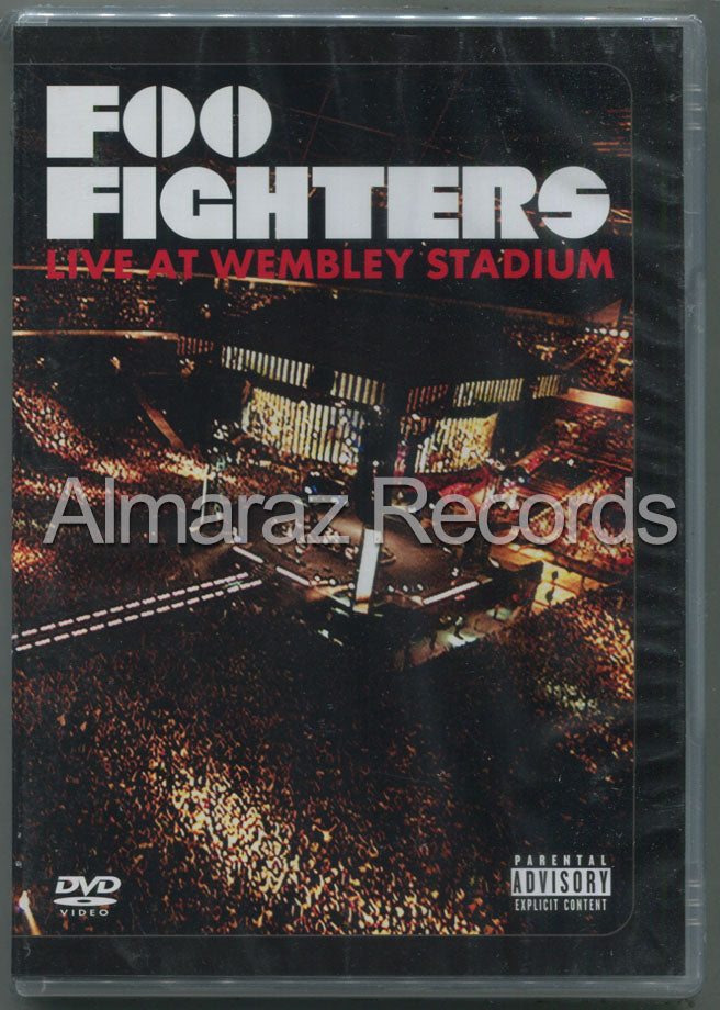 Foo Fighters Live At Wembley Stadium DVD (Usado)