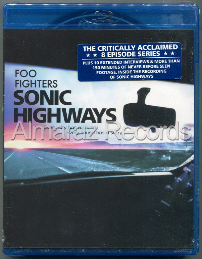 Foo Fighters Sonic Highways Blu-Ray