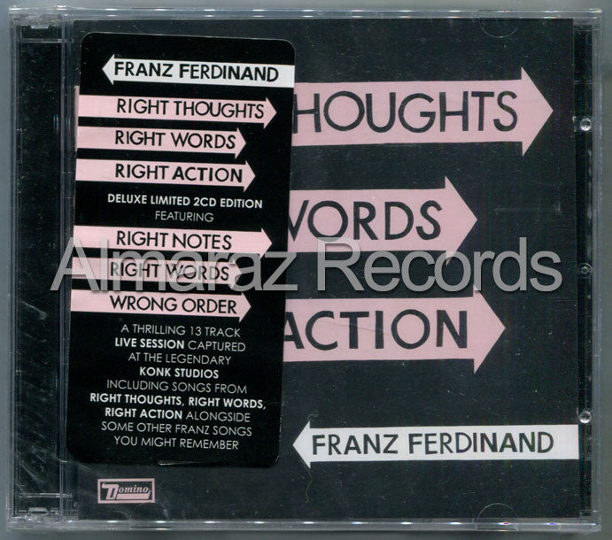 Franz Ferdinand Right Thoughts Right Words Right Action Deluxe 2CD