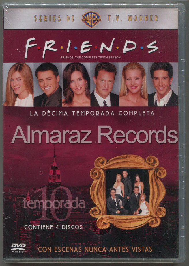 Friends Temporada 10 DVD