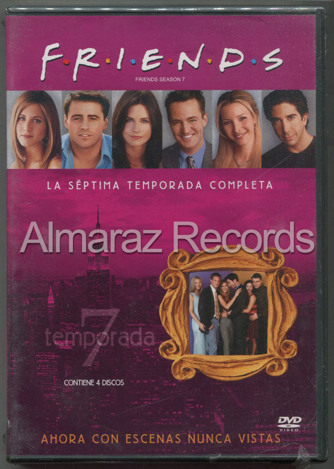 Friends Temporada 7 DVD