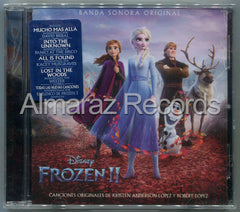 Frozen 2 Soundtrack CD (Versiones En Español)