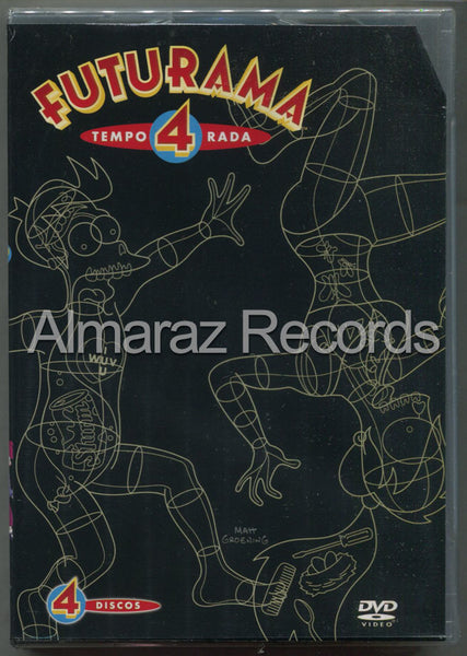Futurama Temporada 4 DVD
