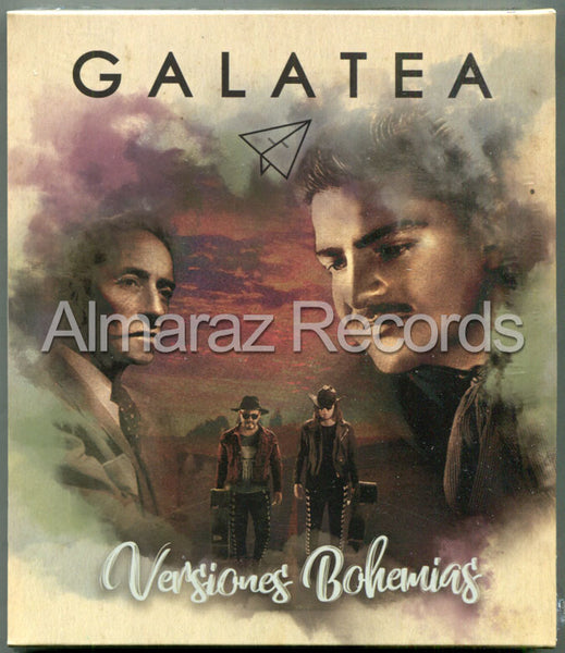 Galatea Versiones Bohemias CD+Blu-Ray