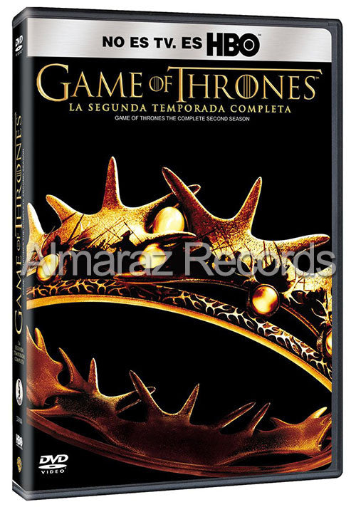 Game Of Thrones Temporada 2 5DVD - Almaraz Records | Tienda de Discos y Películas