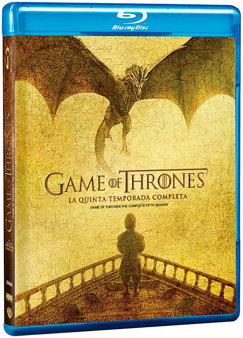 Game Of Thrones Temporada 5 4Blu-Ray