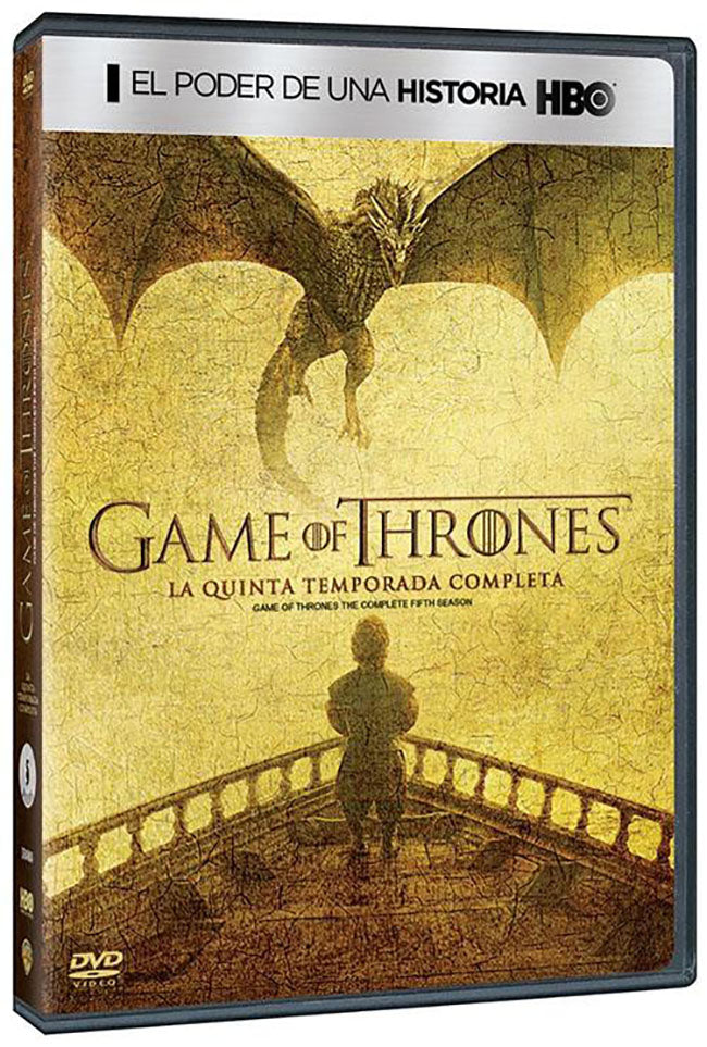 Game Of Thrones Temporada 5 DVD