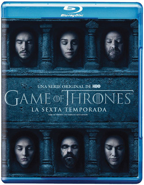 Game Of Thrones Temporada 6 4Blu-Ray - Almaraz Records | Tienda de Discos y Películas