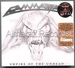 Gamma Ray Empire Of The Undead CD+DVD - Almaraz Records | Tienda de Discos y Películas  - 1