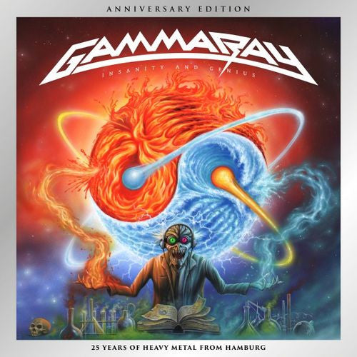 Gamma Ray Insanity And Genius CD - Almaraz Records | Tienda de Discos y Películas