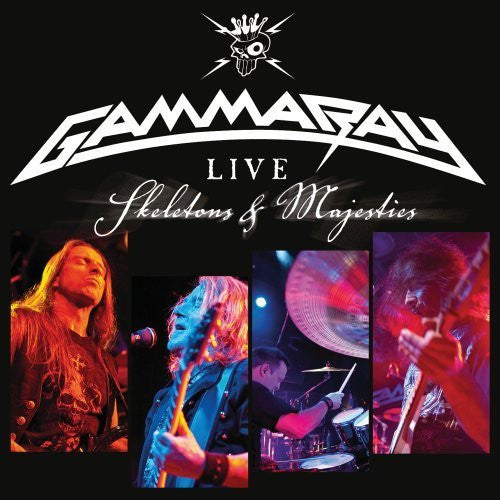 Gamma Ray Live Skeletons & Majesties 2CD - Almaraz Records | Tienda de Discos y Películas