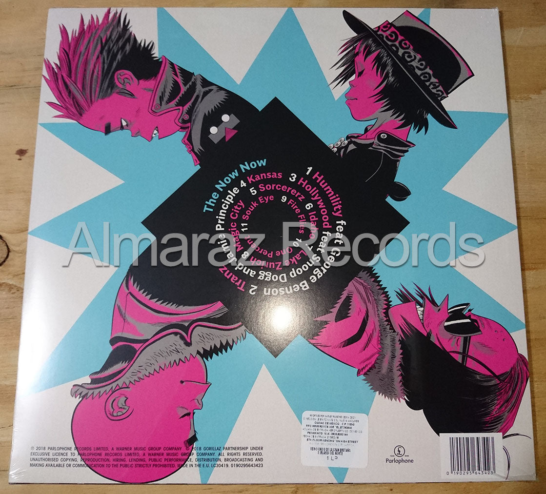 Gorillaz The Now Now Vinyl LP