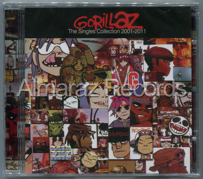 Gorillaz The Singles Collection 2001-2001 CD - Almaraz Records | Tienda de Discos y Películas  - 1