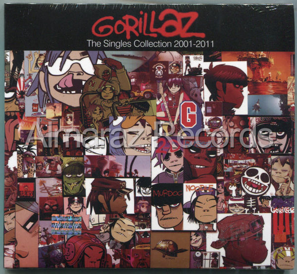 Gorillaz The Singles Collection 2001-2001 CD+DVD - Almaraz Records | Tienda de Discos y Películas  - 1