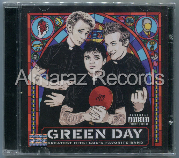 Green Day Greatest Hits God's Favorite Band CD