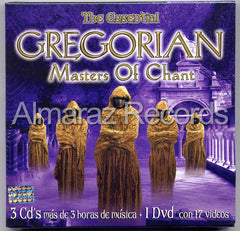 Gregorian Masters Of Chant The Essential Gregorian 3CD+DVD - Almaraz Records | Tienda de Discos y Películas  - 1