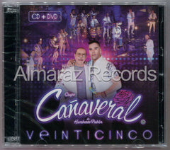 Grupo Cañaveral Veinticinco 25 CD+DVD