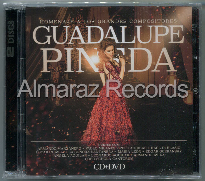 Guadalupe Pineda Homenaje A Los Grandes Compositores CD+DVD