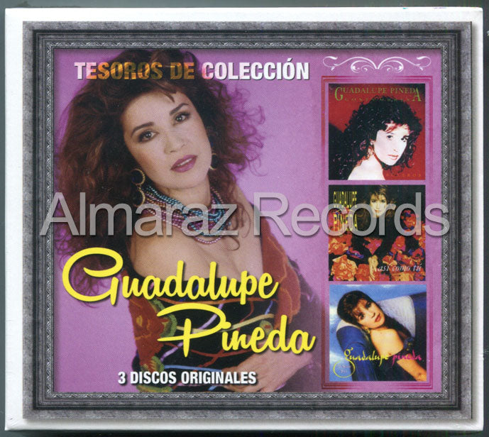 Guadalupe Pineda Tesoros De Coleccion 3CD