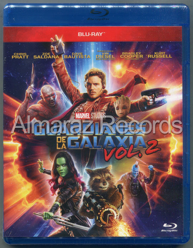 Guardianes De La Galaxia Vol. 2 Blu-Ray
