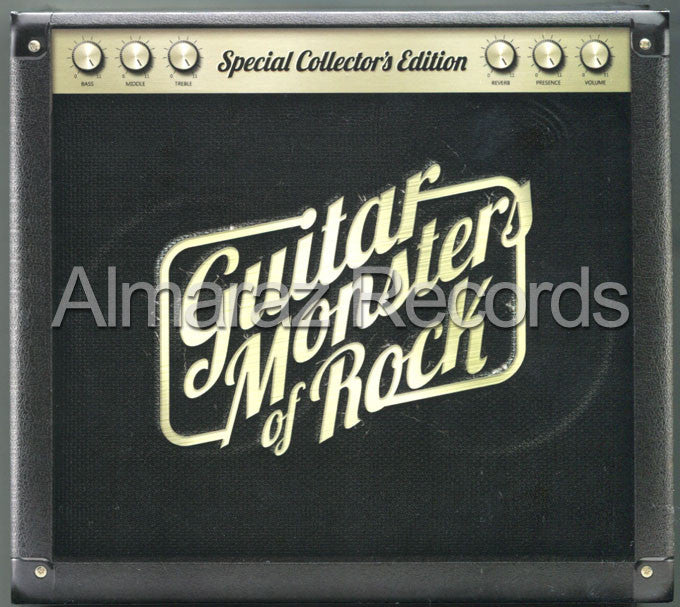 Guitar Monsters Of Rock Special Collector's Edition 3CD - Almaraz Records | Tienda de Discos y Películas  - 1