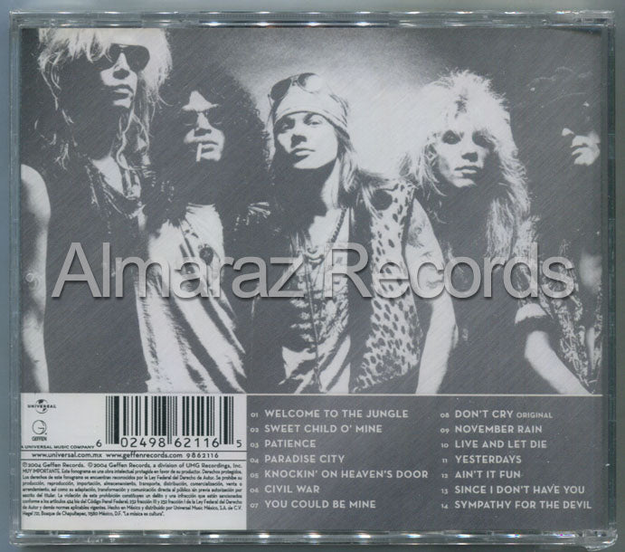 Guns N' Roses Greatest Hits Guns N' Roses CD