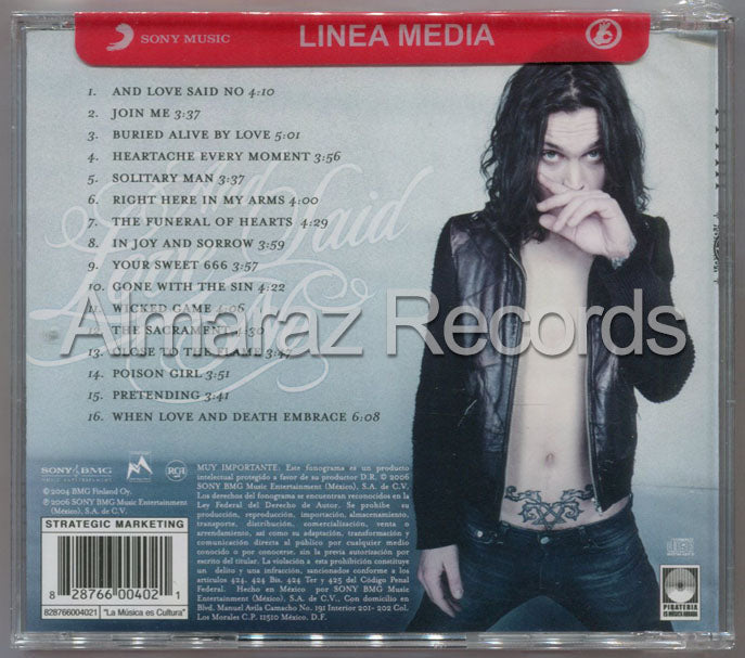 HIM And Love Said No The Greatest Hits 1997 - 2004 CD - H.I.M. - Almaraz Records | Tienda de Discos y Películas  - 2