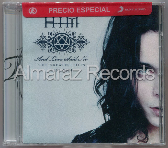 HIM And Love Said No The Greatest Hits 1997 - 2004 CD - H.I.M. - Almaraz Records | Tienda de Discos y Películas  - 1