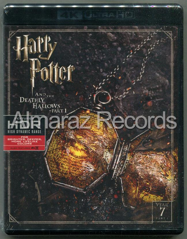 Harry Potter Y Las Reliquias De La Muerte Parte 1 Blu-Ray 4K Ultra HD + Blu-Ray